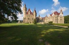 Castello in Moszna Fotografia Stock Libera da Diritti