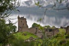 Castello Mystical di Urquhart Fotografie Stock
