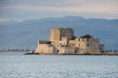 Castello in Nafplio, Grecia di Bourtzi Immagine Stock