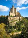 Castello-nave, alcazar, Segovia, Spagna Immagine Stock Libera da Diritti