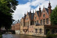 Castello nel Belgio Fotografia Stock