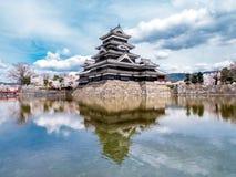 Castello nel Giappone Fotografie Stock Libere da Diritti