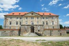 Castello nel Holic, Slovacchia fotografia stock libera da diritti