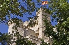 Castello nel legno Fotografia Stock