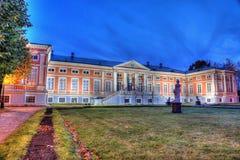 Castello nel parco di autunno Immagine Stock Libera da Diritti