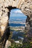 Castello nel San Marino immagini stock libere da diritti