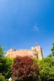 Castello nel verde Immagini Stock Libere da Diritti