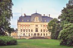 Castello nella città di Pszczyna in Polonia Fotografia Stock Libera da Diritti