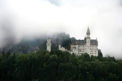 Castello nella foschia II fotografia stock libera da diritti