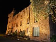 Castello nella notte Immagine Stock Libera da Diritti
