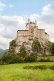 Castello nella valle di Aosta Immagini Stock Libere da Diritti