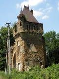 Castello nello stile gotico romano Fotografie Stock Libere da Diritti