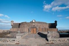 Castello nero Fotografia Stock