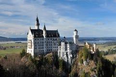 Castello Neuschwanstein Immagine Stock Libera da Diritti