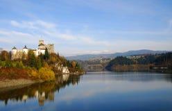 Castello in Niedzica fotografia stock