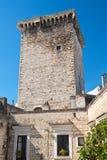 Castello normanno Rutigliano La Puglia L'Italia Fotografie Stock