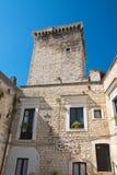Castello normanno Rutigliano La Puglia L'Italia Fotografie Stock Libere da Diritti