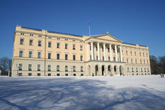 Castello norvegese Immagini Stock Libere da Diritti