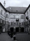 Castello Nove Mesto nad Metuji fotografie stock libere da diritti
