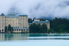 Castello nuvoloso Fotografia Stock Libera da Diritti