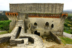 Castello, Oporto de Mos, Portogallo Fotografia Stock Libera da Diritti