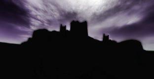 Castello Panaroma del diavolo in Kars Fotografia Stock Libera da Diritti