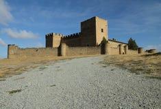 Castello a Pedraza, Spagna Immagini Stock Libere da Diritti