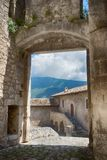Castello Piccolomini στοκ εικόνα με δικαίωμα ελεύθερης χρήσης