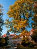 Castello in Pieskowa Skala Fotografie Stock Libere da Diritti