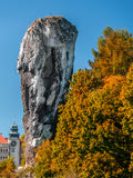 Castello in Pieskowa Skala Fotografia Stock Libera da Diritti