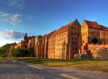 Castello polacco Fotografie Stock