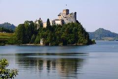 Castello in Polonia Fotografie Stock Libere da Diritti