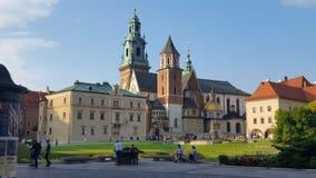 Castello Polonia di Cracovia Fotografia Stock Libera da Diritti