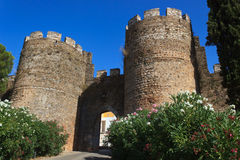 Castello portoghese Fotografie Stock Libere da Diritti