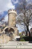 Castello Pulverturm Jena immagini stock