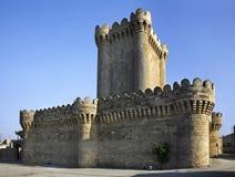 Castello a quadrangolo in Mardakan l'azerbaijan immagine stock