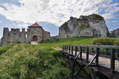 Castello in Rabsztyn Fotografie Stock Libere da Diritti