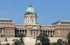 Castello reale Budapest di Buda Immagini Stock