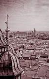 Castello reale a Cracovia Fotografia Stock Libera da Diritti