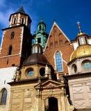 Castello reale a Cracovia Immagini Stock