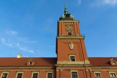 Castello reale di Varsavia Fotografia Stock Libera da Diritti
