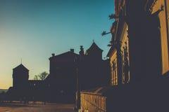 Castello reale di Wawel Fotografia Stock Libera da Diritti