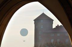 Castello reale di Wawel Fotografia Stock