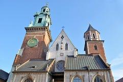 Castello reale di Wawel Fotografie Stock Libere da Diritti