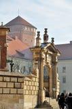 Castello reale di Wawel Immagine Stock