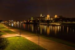 Castello reale di Wawel Immagine Stock Libera da Diritti