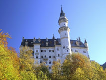 Castello reale Neuschwanstein Immagini Stock Libere da Diritti
