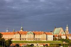 Castello reale a Varsavia Immagine Stock Libera da Diritti