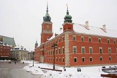 Castello reale a Varsavia. Fotografia Stock Libera da Diritti