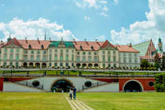 Castello reale a Varsavia Fotografia Stock Libera da Diritti